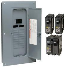 Square D Main Breaker Box Kit 100 Amp 20 Space 40 Circuit Plug On Indoor Unit