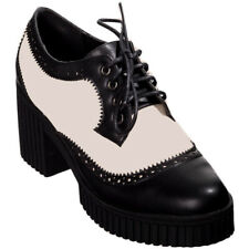 Banned Retro Rockabilly Hepcat Vintage Schuhe Creeper Pumps - Jester