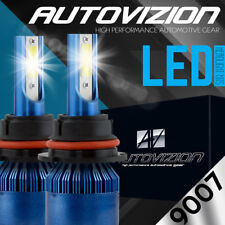 AUTOVIZION LED HID Headlight kit 9007 HB5 White for 2004-2012 Mitsubishi Galant