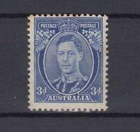 Australia KGVI 1938 3d Blue Die III SG168c MNH (light foxing) J7261