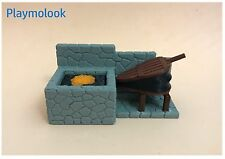 FRAGUA HERRERO - FORGE BLACKSMITH CUSTOM MEDIEVAL PIEZAS PLAYMOBIL NO INCLUIDAS
