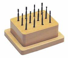 12-Piece Bur Set Jewelry Making Wax Wood Plastic Carving Cutting Rotary Tools