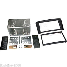 CT23TY05 TOYOTA AVENSIS T25 2003 to 2009 BLACK DOUBLE DIN FASCIA ADAPTER KIT