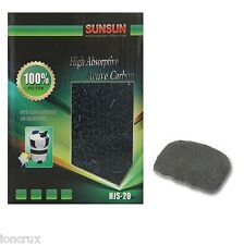 SUNSUN Activated Carbon Filter Media for Aquarium