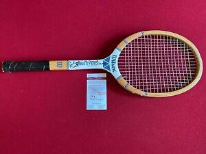 "Chris Evert, ""Autographed"" (JSA / Witness) Wilson Tennis Racket (Full Name)"