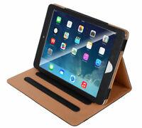 SDTEK Funda Completo Negro Para iPad Air 2013 PU Cuero Elegante Cubierta Caja