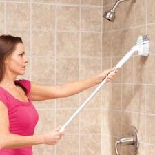 New Telescoping Bathroom Handle Scrubber Brush  Bathtub Shower Wall Tile Cleaner