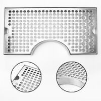 304 Stainless Steel Polished Removable Kegerator Tap Draft Beer Drip Tray