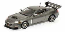 Jaguar XKR Gt3 2008 Grey 1:43 Model 400081390 MINICHAMPS