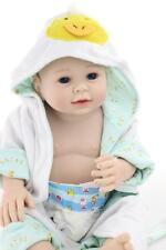 20'' Lifelike Full Body Silicone Reborn Doll Simulation Boy Baby Doll Realistic