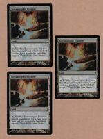 MTG - 3X Terramorphic Expanse X3 - Land PDS Slivers NM/MT - 3 Foil Cards