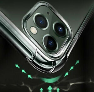 CLEAR Shockproof Case For iPhone 11, 11 Pro and 11 Pro Max Silicone case