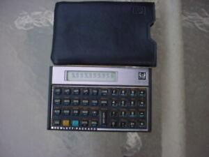 HEWLETT PACKARD HP-15C USA Made Vintage Collectible SCIENTIFIC CALCULATOR