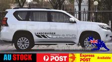 For Toyota Prado Landcruiser Door Body Decorative Decal Sticker (Black) 1 Pair