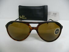 New Vintage B&L Ray Ban Traditionals Style A Black Tortoise B-15 L1669 Aviator