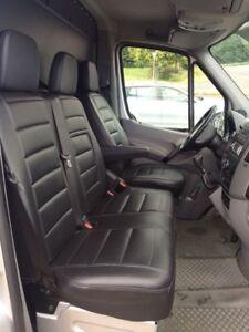 Sitzbezüge Autositzbezüge Kunstleder  Maß für VW Crafter MB Sprinter W906