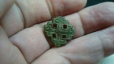 Really nice Post Medieval Bronze collection box mount Uncleaned condition L266