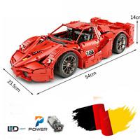 Technic FXS Rennwagen Auto 42056 42083 Bausteine Blöcke MOC Bauteile 42110 42099
