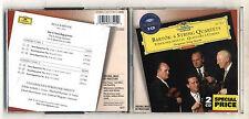 2 Cd BELA BARTOK 6 String Quartets Hungarian String Quartet StreichQuartette