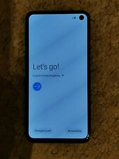 Samsung Galaxy s10e 128 Gb Unlocked Smart phone Blue