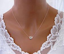 Swarovski Elements 14K Rose Gold Necklace *Mothers Day * Xmas* Valentines Day