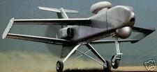 Outrider Alliant Tactical UAV Airplane Wood Model Big