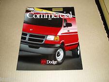 2002 Dodge Commercial Ram 1500 2500 3500 pickup truck Dakota Van sales brochure