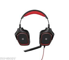 Logitech G230 Stereo Gamer Gaming Headset PC-Gaming Kopfhörer