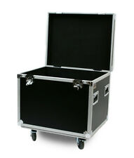 """OSP 30"""" Utility Cable Trunk ATA Flight Road Case 4"""" wheels - Hard Rubber Lined"""