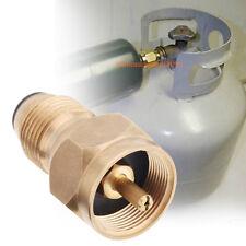 1 lb Cylinder LPG Gas Tank Coupler Propane Refill Adapter Heater BBQ Outdoors