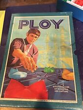 Ploy 3M Bookshelf Board Game 1970 Strategy Maneuver & Capture Avalon Complete