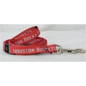 Houston Rockets NBA Large 6 ft. Dog/Pet Lead Leash