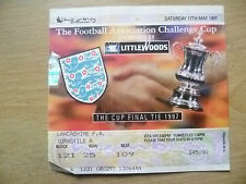 TICKET: FA CUP FINAL 1997- CHELSEA v MIDDLESBROUGH