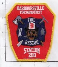 West Virginia - Barboursville Station 200 WV Fire Dept  Patch