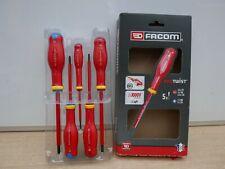 Facom AT3.5X100TVE Protwist 1000v VDE Slim Insulated Screwdriver Slot 3.5 x 100