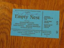 David Leisure Autographed Empty Nest Ticket Hand Signed