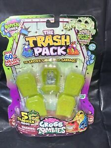 The Grosseling Trash Pack Gross Zombies ROTTEN SERIES 5 Trashies Figures W7
