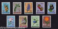 Yugoslavia - 1961 Medicinal Plants - U/M - SG 1000-8