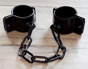 Dungeon Steel Cuffs Fesseln Fußfesseln Handfesseln Stahlfesseln Maßanfertigung