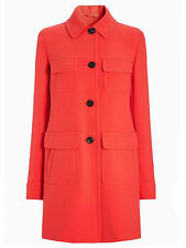 New Womens ladies gorgeous Next coral Long Sleeve Coat size 18