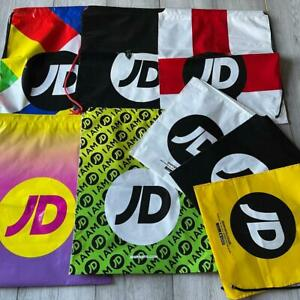 JD Sports Drawstring Bags - Various Colours / Design New Unused - Gym School