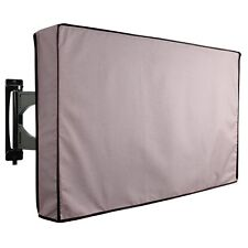 Outdoor TV Cover Universal Weatherproof Protector for 36''  38'' TV - Grey