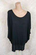 Ingrid & Isabel Women's Maternity Size Large L Pullover Top Black Modal O