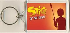 Stig Of The Dump. The Musical. Keyring / Bag Tag.