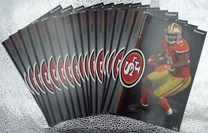 """Frank Gore 10 Fathead San Fransico 49ers NFL 7"""" Decal Miami Dolphins Hurricanes"""