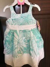 Carter's Baby Girls Dress 9 Months Wedding Outfit Floral Print BNWT