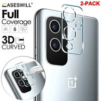 For OnePlus 9 9R 9 Pro HD-Clear 9H Tempered Glass Camera Lens Screen Protector