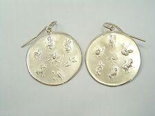 ORECCHINI pendenti con SEGNI ZODIACALI in Argento 925 - zodiaco - amo -