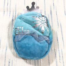 Disney Princess Elsa Frozen Blue Mini Backpack Keychain Pocket Pouch