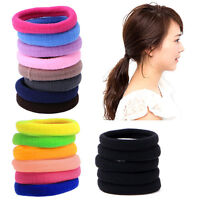 50Pcs Women Girl Hair Band Ties Elastic Rope Ring Hairband Ponytail Holder NEW